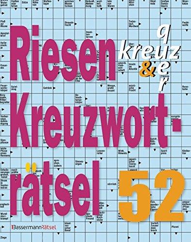 Riesen-Kreuzworträtsel. Bd.52 (Paperback): Eberhard Krüger