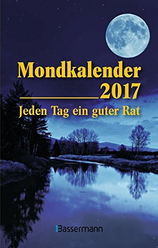9783809436188: Mondkalender 2017 Taschenkalender: Jeden Tag ein guter Rat