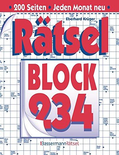 Rätselblock. Bd.234 (Paperback): Eberhard Krüger