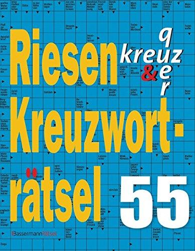 Riesen-Kreuzworträtsel. Bd.55 (Paperback): Eberhard Krüger