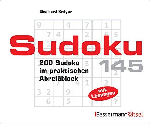 Sudoku Block 145: 200 Sudoku im praktischen: Eberhard Krüger