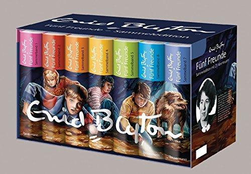 Fünf Freunde - Die Sammeledition Bd. 1 - 21: Enid Blyton