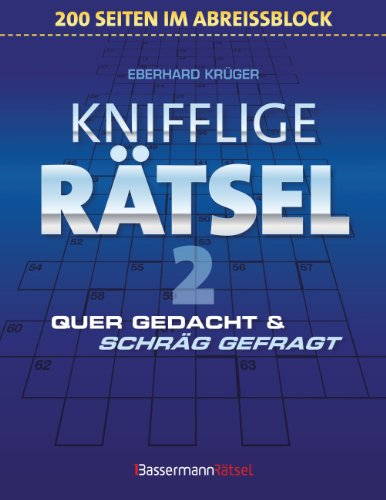 9783809463047: Knifflige R�tsel 2 (Block) - 5er VE