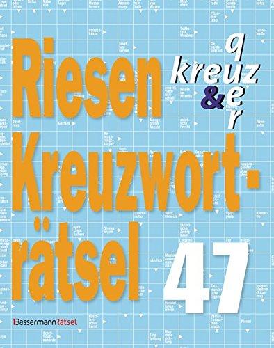 9783809463504: Riesen-Kreuzworträtsel 47 - 5er VE