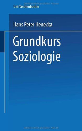 9783810004949: Grundkurs Soziologie