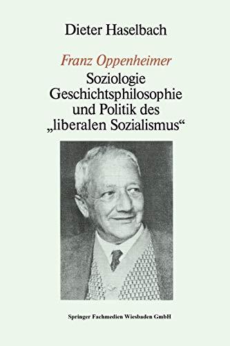 9783810005274: Franz Oppenheimer