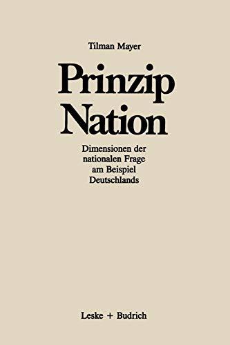 dimensionen der nationalen frage dargestellt am beispiel deutschlands - Offentliches Recht Beispiele