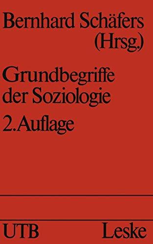 9783810006004: Grundbegriffe der Soziologie (Schriften Des Deutschen Orient-Instituts) (German Edition)