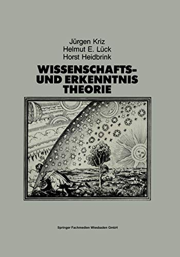 9783810006622: Wissenschafts- und Erkenntnistheorie: Eine Einführung für Psychologen und Humanwissenschaftler (German Edition)