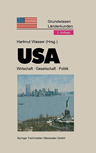Usa (Grundwissen - Länderkunden) - Wasser, Hartmut