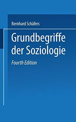 9783810013781: Grundbegriffe Der Soziologie (Uni-Taschenbücher)