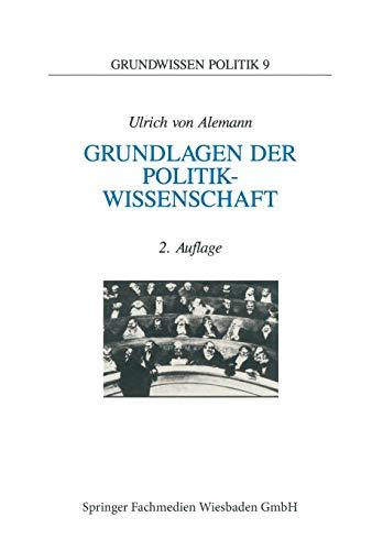9783810014276: Grundlagen der Politikwissenschaft: Ein Wegweiser (Grundwissen Politik) (German Edition)