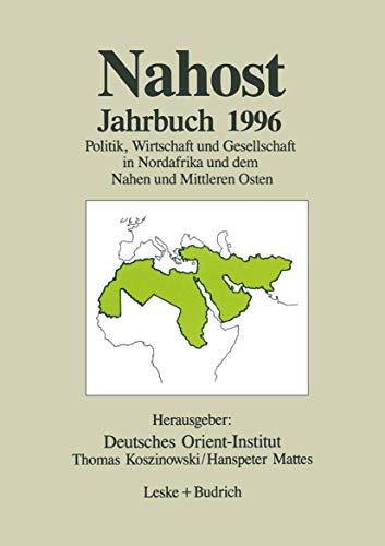 nahost jahrbuch 1992 deutsches orient institut