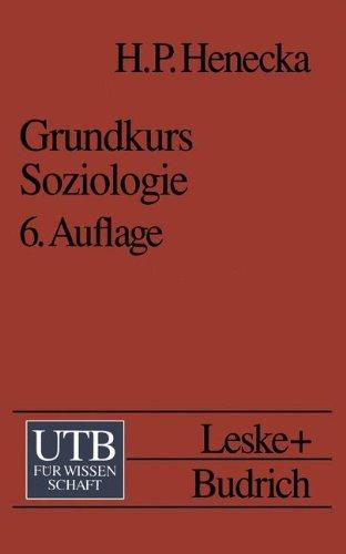 9783810018793: Grundkurs Soziologie