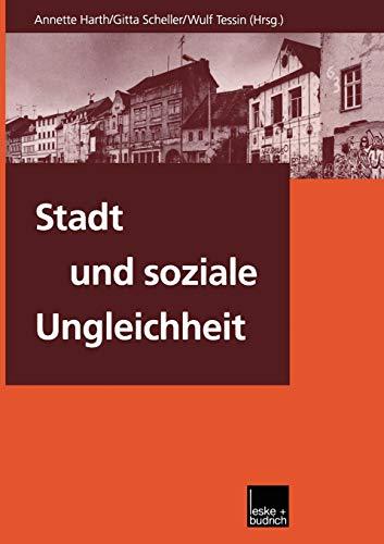 Stadt und soziale Ungleichheit German Edition
