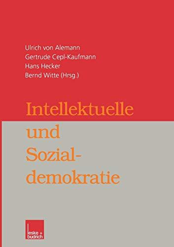 9783810029218: Intellektuelle und Sozialdemokratie
