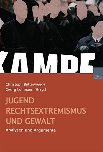 9783810029768: Jugend Rechtsextremismus Und Gewalt