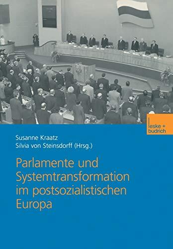 9783810032430: Parlamente und Systemtransformation im postsozialistischen Europa (German Edition)