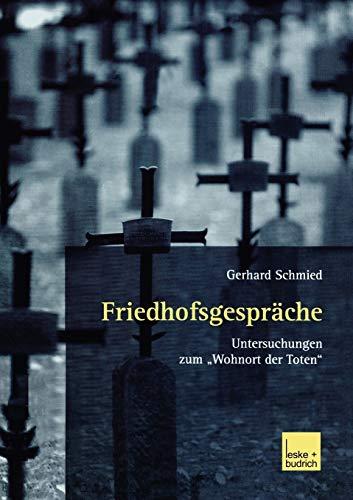 """9783810034021: Friedhofsgespräche: Untersuchungen zum """"Wohnort der Toten"""" (German Edition)"""