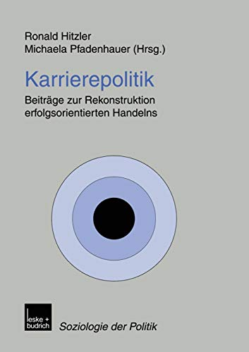 Karrierepolitik: Ronald Hitzler