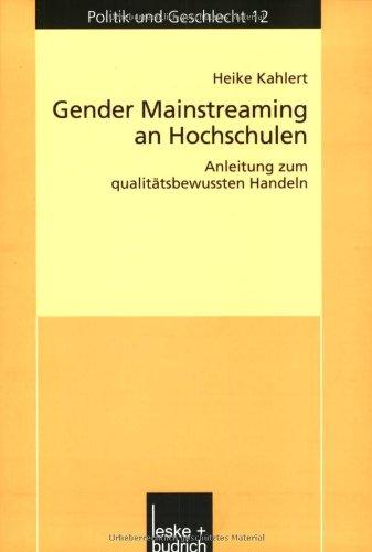 9783810038241: Gender Mainstreaming an Hochschulen.