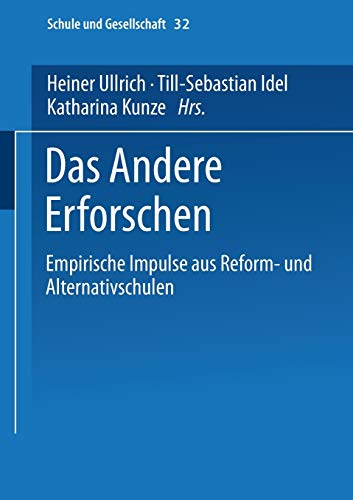 Das Andere Erforschen: Heiner Ullrich (editor),