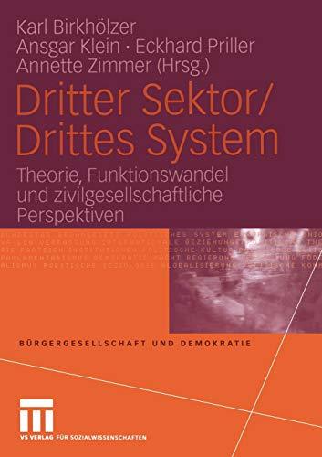 Dritter Sektor / Drittes System: Karl Birkh�lzer