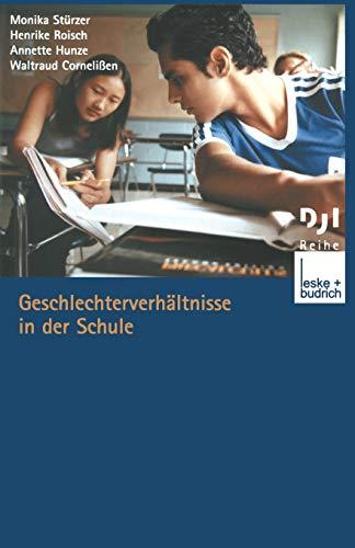 Geschlechterverhältnisse in der Schule (DJI - Reihe): Stürzer, Monika, Roisch,