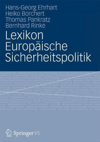 9783810040671: Lexikon Europäische Sicherheitspolitik