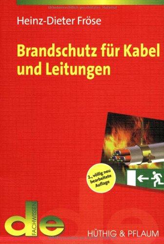 9783810102195: Brandschutz für Kabel und Leitungen