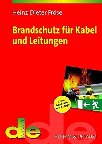 9783810102898: Brandschutz für Kabel und Leitungen
