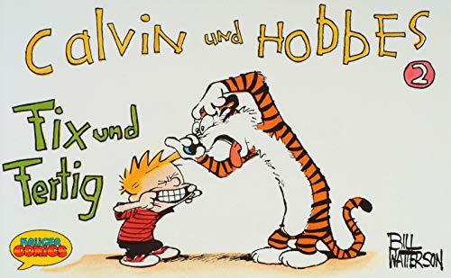 9783810503213: Calvin und Hobbes, Kleinausgabe, Bd.2, Fix und Fertig