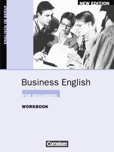9783810919830: Business English for Beginners. Workbook. New Edition: Englisch im Beruf