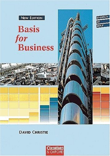 9783810923431: Basis for Business, New Edition, Kursbuch