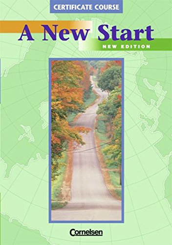 A New Start Certificate Course : New Edition Mittelstufe: David Christie