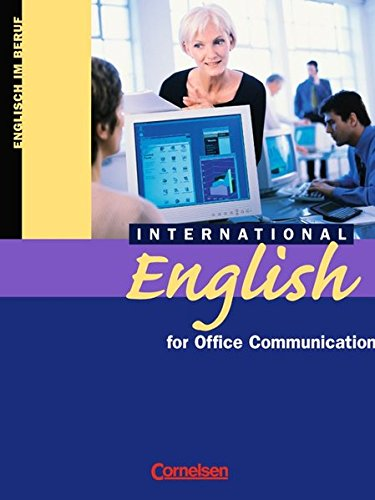 9783810967190: International English for Office Communication. (Lernmaterialien)
