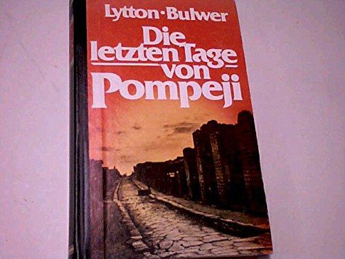 Die letzten Tage von Pompeji: Edward, Bulwer-Lytton: