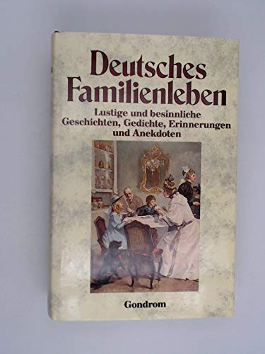 9783811203990 Deutsches Familienleben Lustige Und