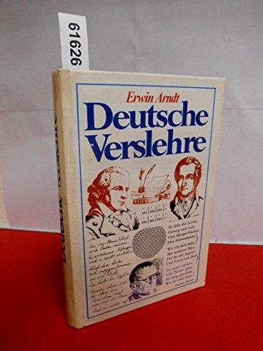9783811204621: Deutsche Verslehre