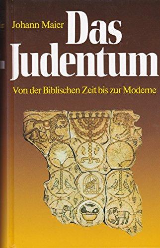 9783811205956: Das Judentum. Von der biblischen Zeit bis zur Moderne