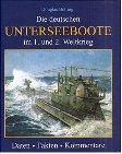 9783811218536: Die deutschen Unterseeboote im 1. und 2. Weltkrieg