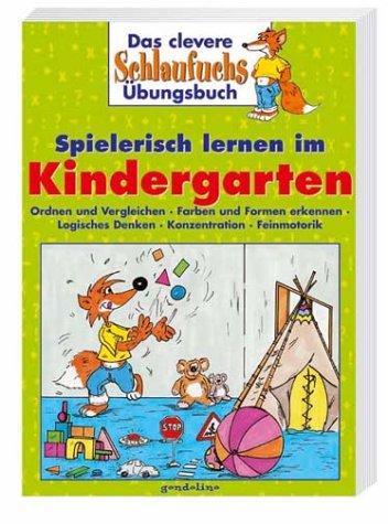 9783811220140: Das clevere Schlaufuchs Übungsbuch. Spielerisch lernen im Kindergarten.