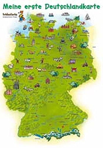 9783811221086: Schlaufuchs Kinderzimmer-Poster: Meine erste Deutschlandkarte