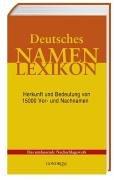9783811222717: Deutsches Namenlexikon.