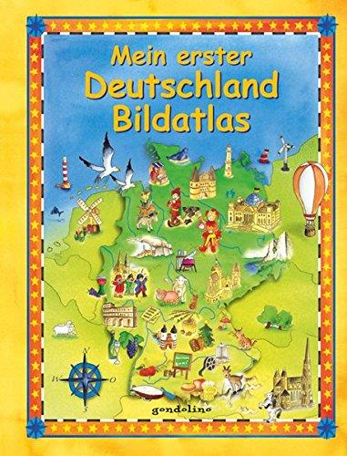 9783811232532: Mein erster Deutschland Bildatlas