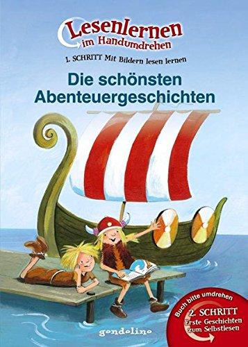9783811232990: Lesenlernen im Handumdrehen: Die schönsten Abenteuergeschichten. Die besten Tiergeschichten