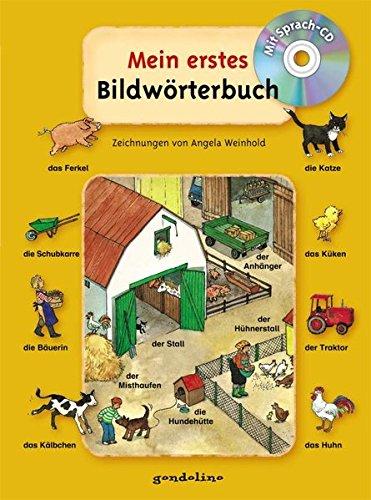 9783811233461: Mein erstes Bildwörterbuch, mit Sprach-CD