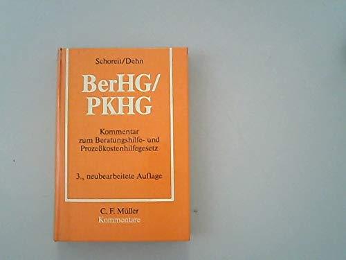 9783811410879: Beratungshilfegesetz, Prozesskostenhilfegesetz: Kommentar (German Edition)