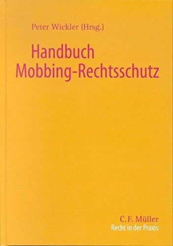 9783811418561: Handbuch Mobbing - Rechtsschutz.