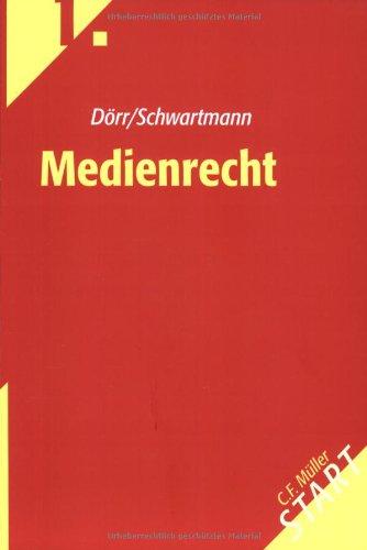 9783811432031: Medienrecht